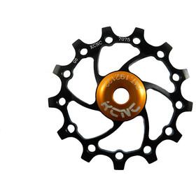 KCNC Original Jockey Wheel 12T Ceramic Bearing Long Teeth, black